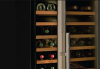What is the required temperature for storing red wine?
